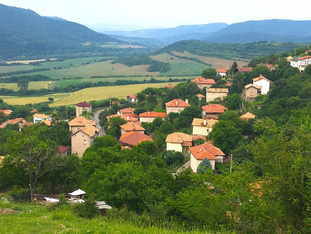 Panorama of Lyuti Brod