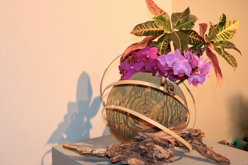 Good Ikebana. Philadelphia Flower Show, March 2019. Kristen Ghodsee
