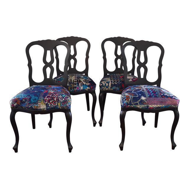 Enjoyable Widdicomb Dining Chairs Traditionally Upholstered Bohemian Cjindustries Chair Design For Home Cjindustriesco