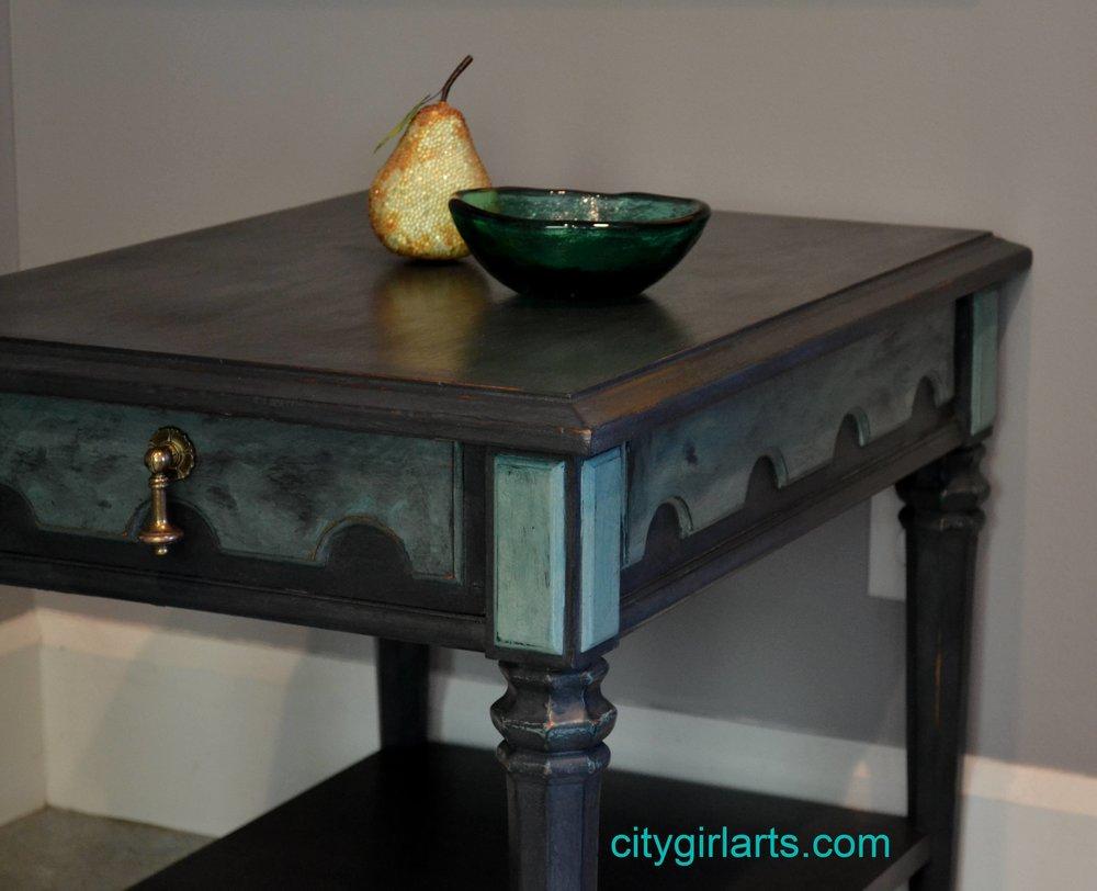 Mediterranean Side Table
