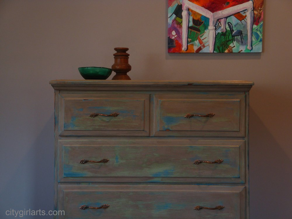 hidden desk dresser