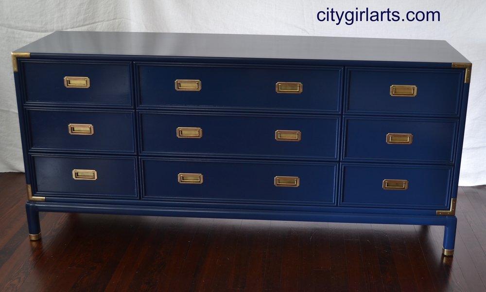 Henredon Campaign Dresser