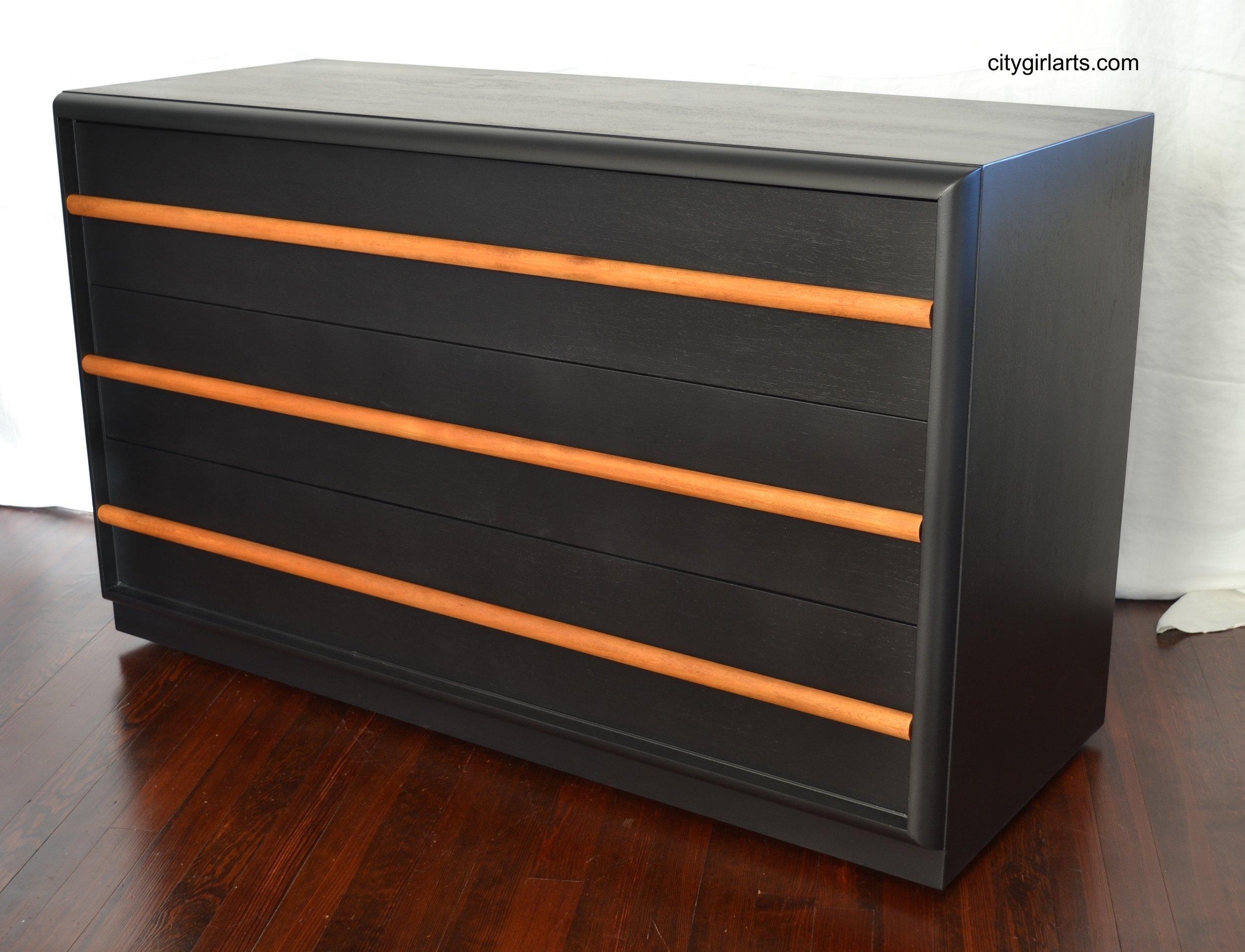 Black Robsjohn-Gibbings Widdicomb Dresser