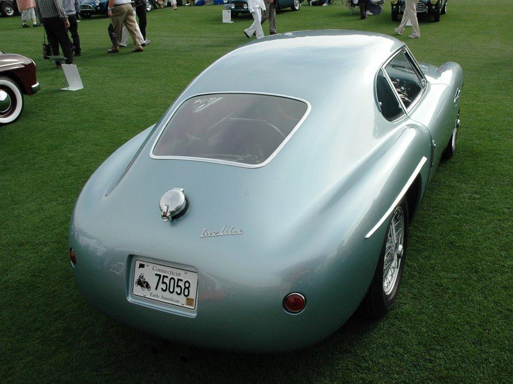 A striking view of a striking car, Siata 208BS