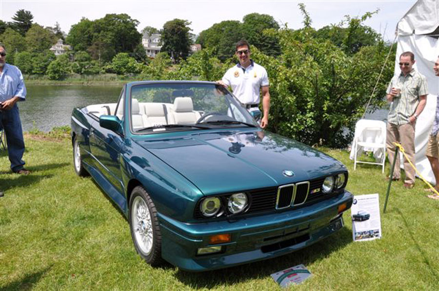 Mike Gallino's BMW, another joint effort Mike restored over 10 years after ARI paint; thanks Peter and ARI on finish restoration, looking just right