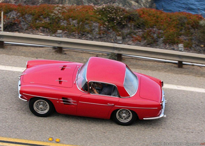 Pegaso on Tour; the road, the coast highway and the scenery. Good stuff. Richard Owen photo