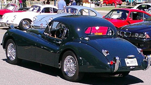 Andy Williams' XK120