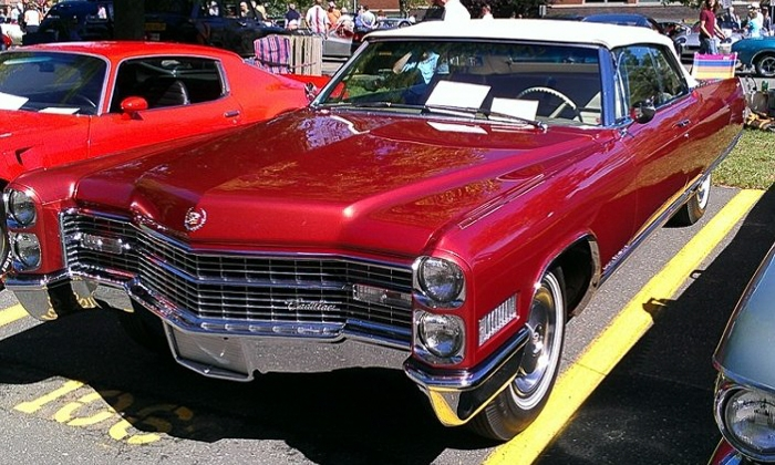Just completed and soon awarded: Brad O'Connell's superb 1966 Cadillac Eldorado Convertible