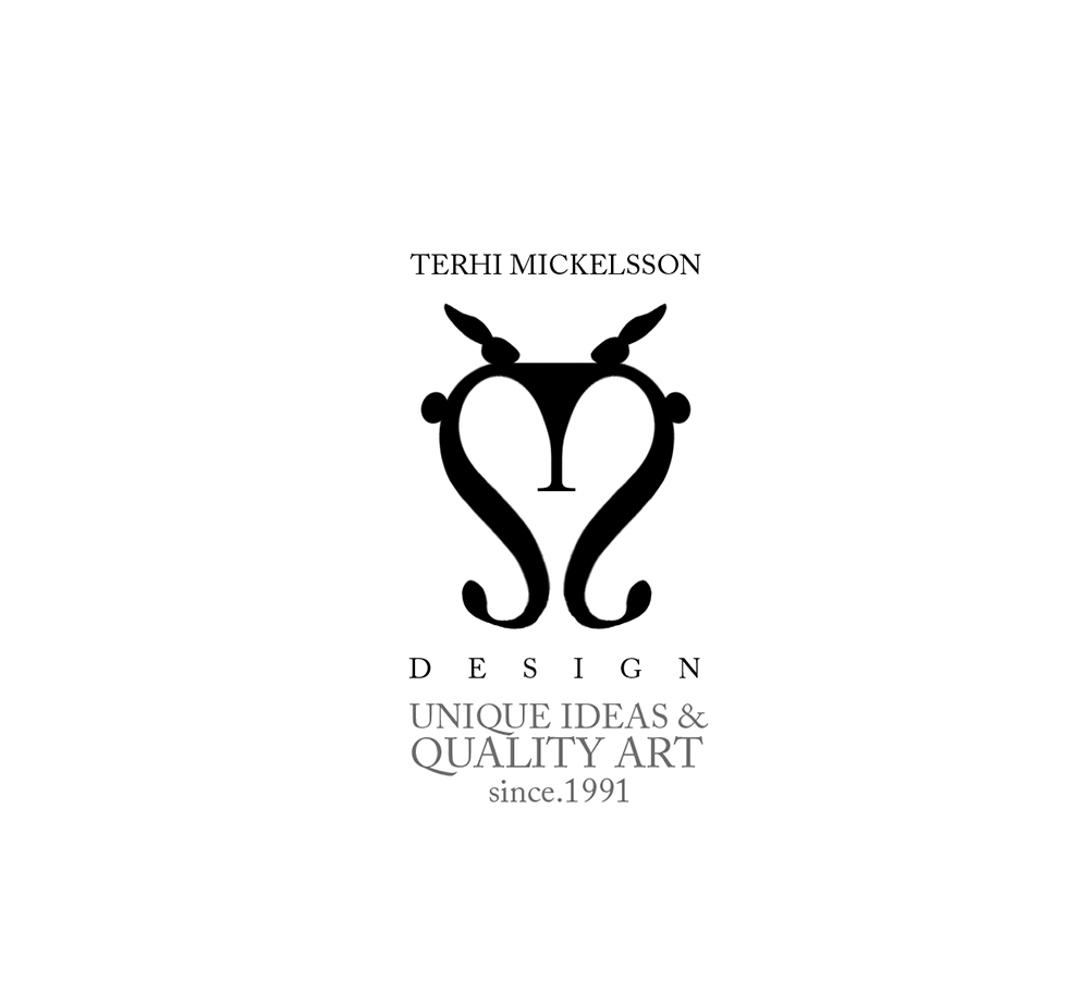 TERHI MICKELSSON  Creating the logo for the ceramist and artist Terhi Mickelsson. -Terhi Mickelsson is a ceramic artist known for her playful, animal-themed designs. The softness of her brand is encapsulated in the heart formed by her logo.