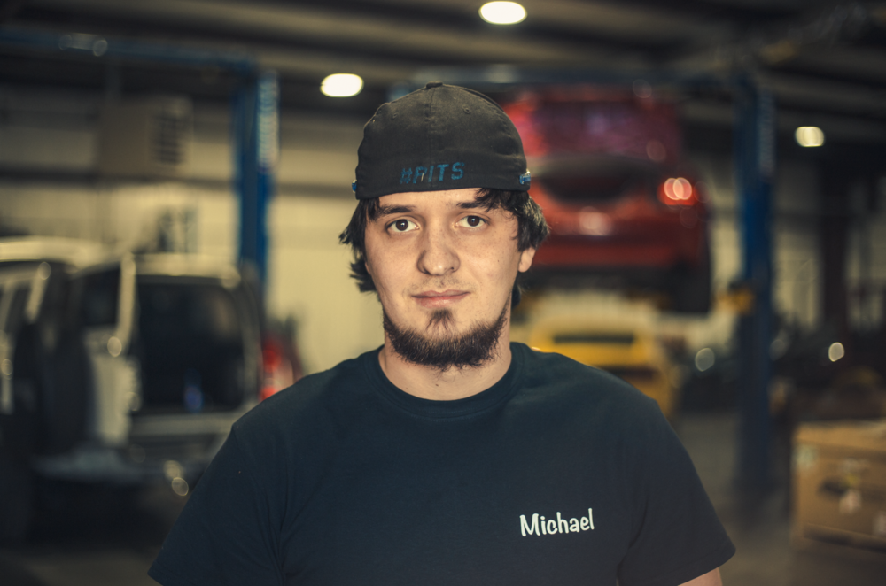 Michael - Text about team member of East Coast Motorsports.Text about team member of East Coast Motorsports.Text about team member of East Coast Motorsports.Text about team member of East Coast Motorsports.Text about team member of East Coast Motorsports.Most likely to: get pranked by Mike