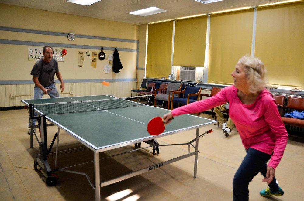 Onancock Table Tennis Club