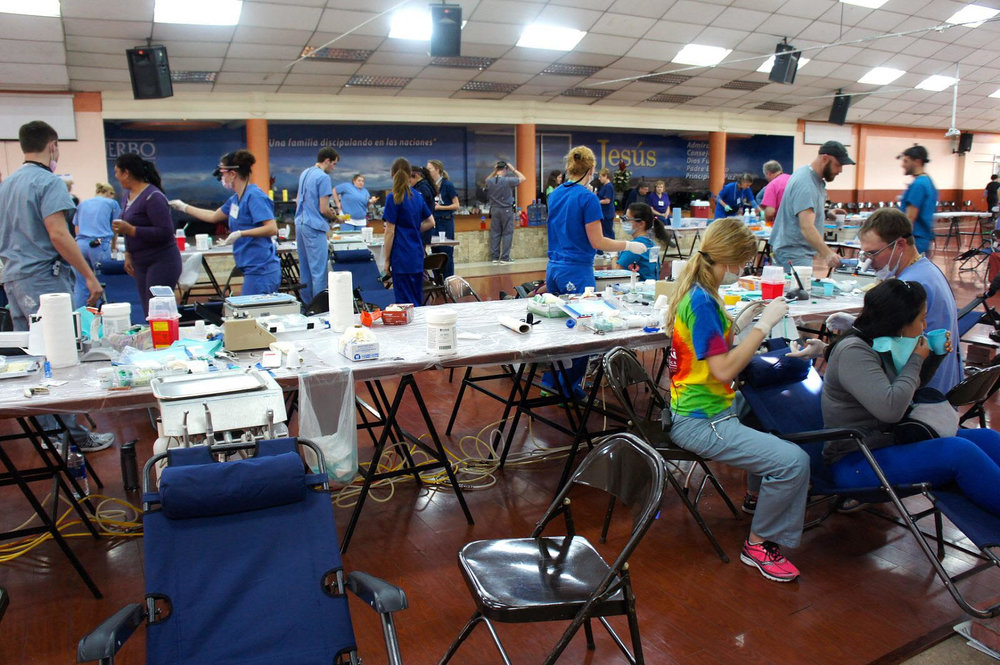Dental Clinic in Ecuador where Lucia and other Interpreters Volunteer.