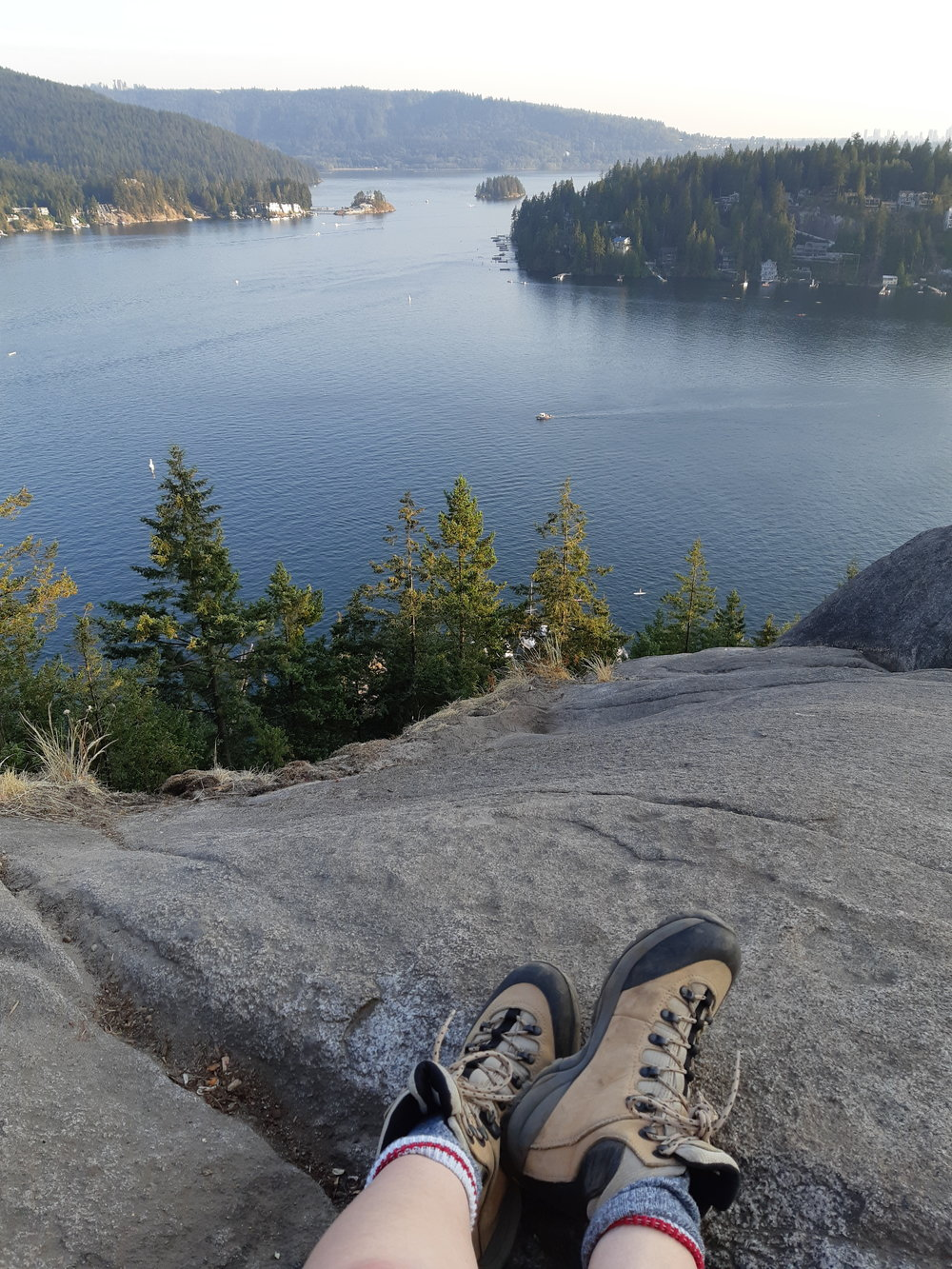 A hike that many local Vancouverites would recognize, Quarry Rock, is now possible for me to enjoy again!