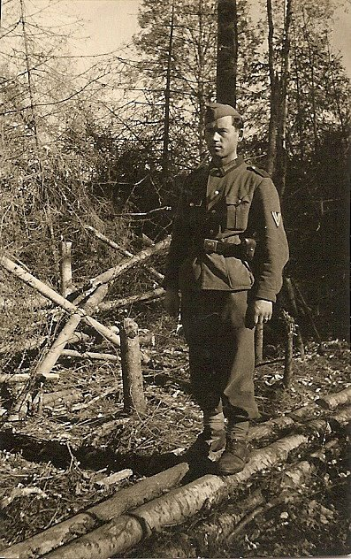 My Grandpa Tutschek, in his German Army uniform