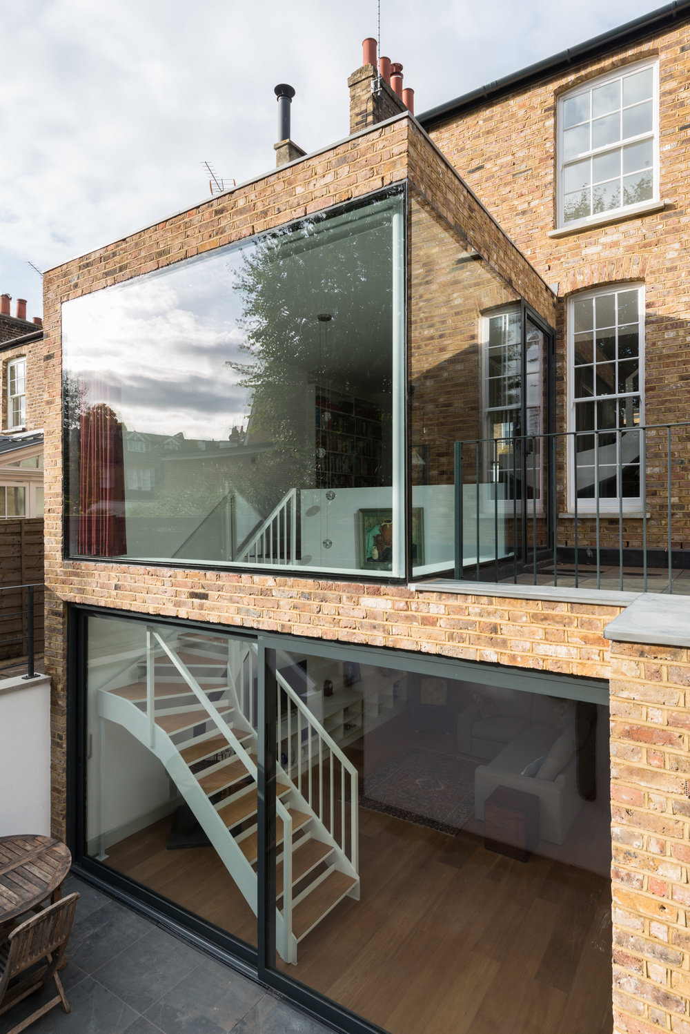 Clapham House Glass - MW Architects