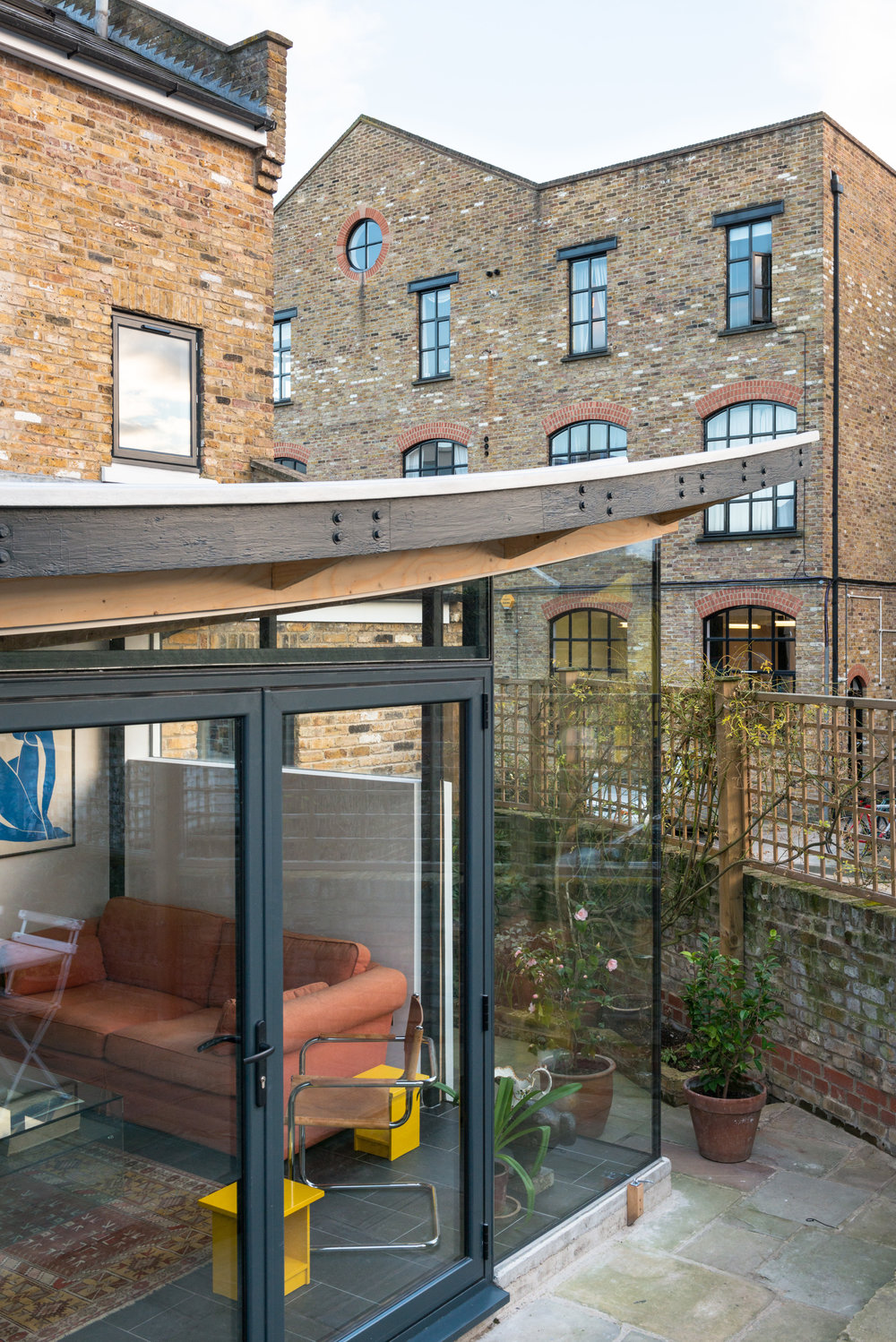 Independent Place Glass - MW Architects