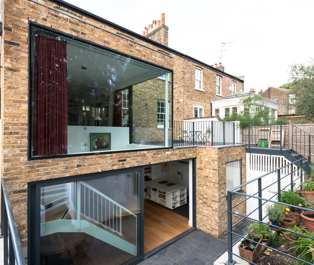 Clapham House External - MW Architects