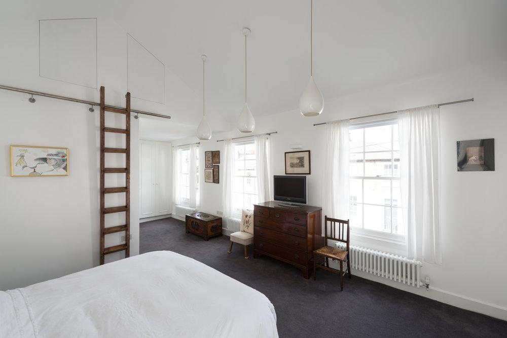Clapham House Bedroom - MW Architects