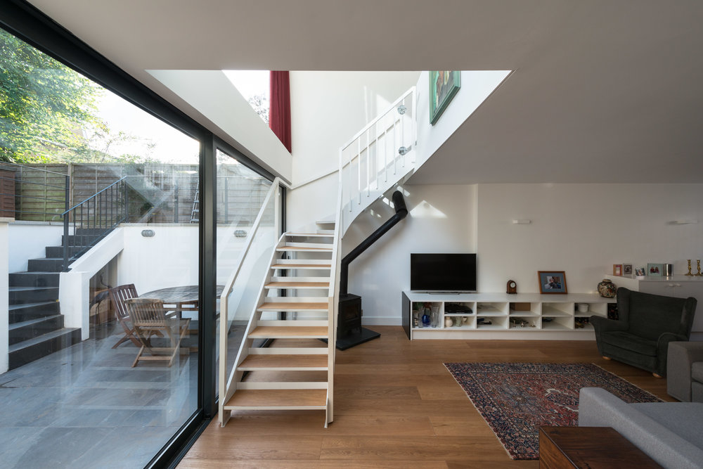 Clapham House Stairs - MW Architects