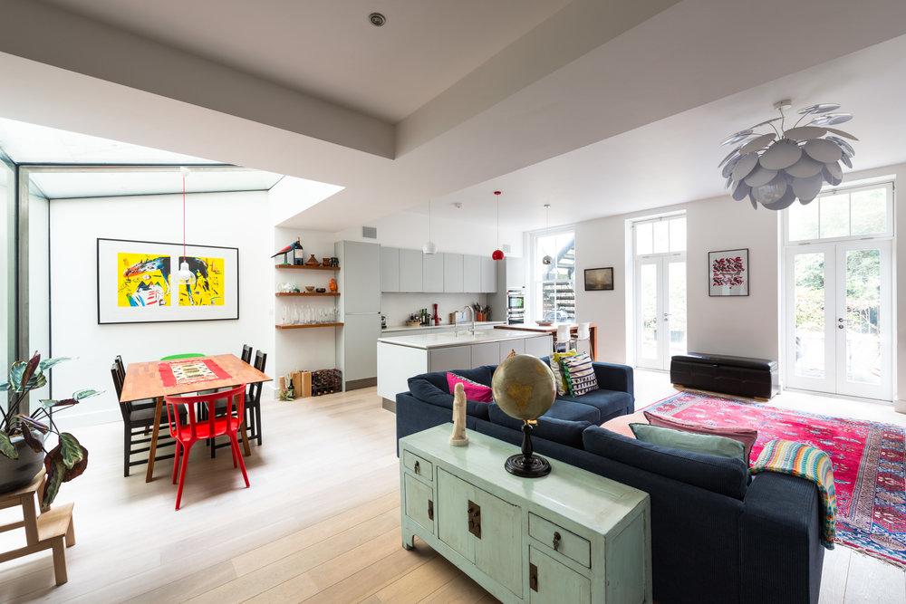 Warrington Crescent Living Dining - MW Architects