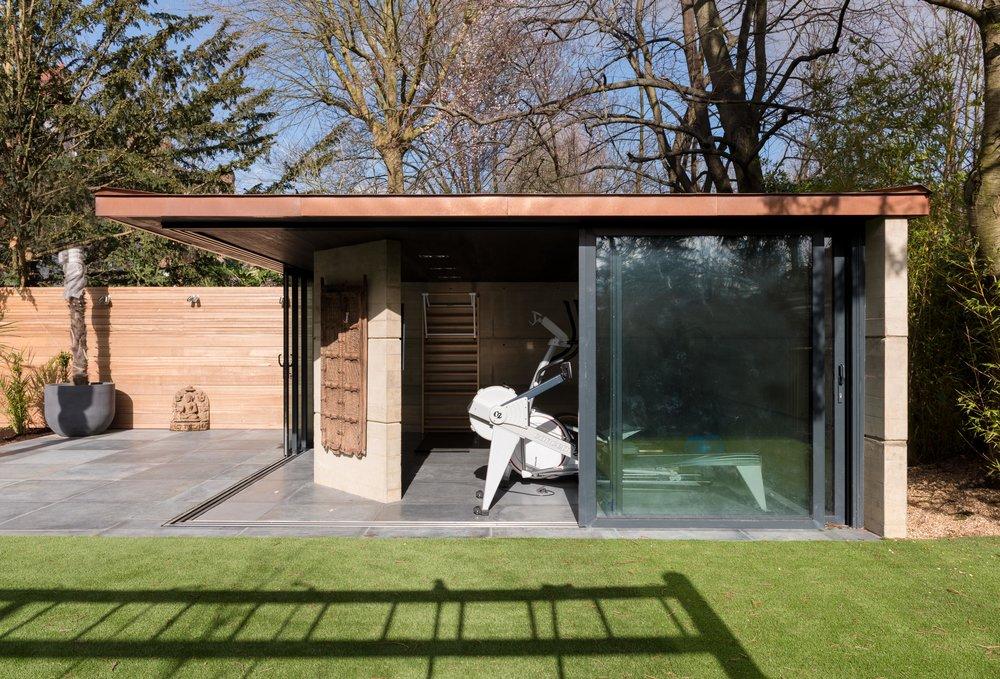 Yoga Pavilion External - MW Architects