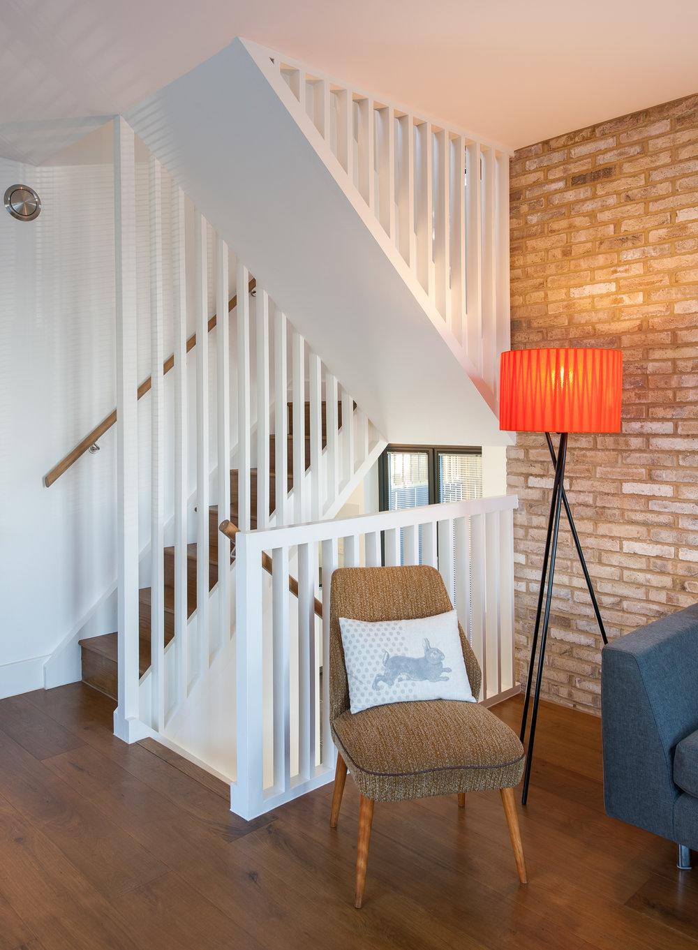 Essex Mews Stair Case - MW Architects