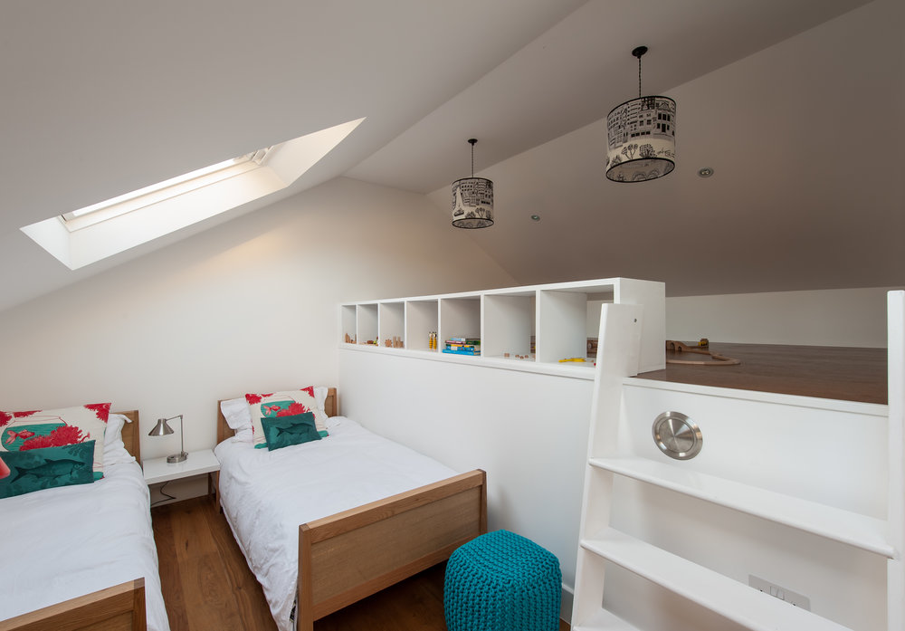 Essex Mews Children's Bedroom - MW Architects
