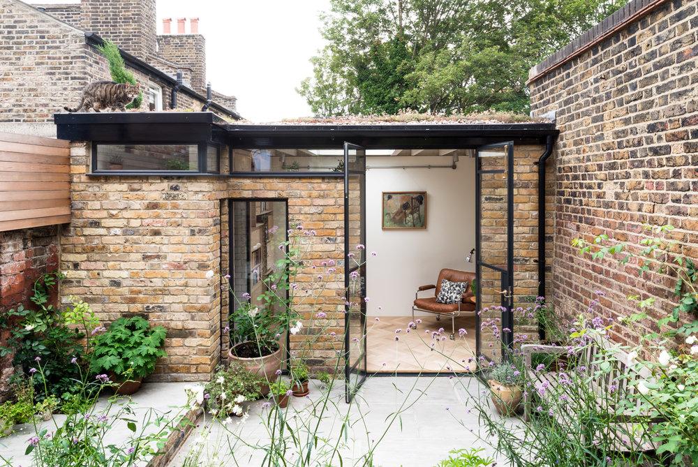 Greenwich Garden Studio Elevation - MW Architects