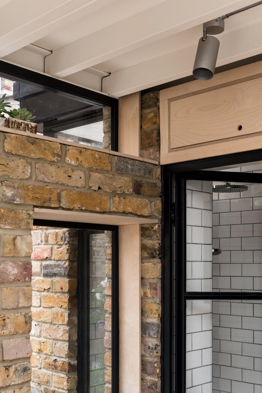 Greenwich Garden Studio Window Reveals - MW Architects