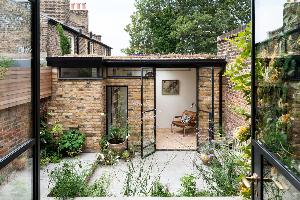 Greenwich Garden Studio Courtyard - MW Architects