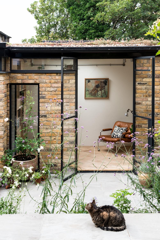 Greenwich Garden Studio Cat - MW Architects
