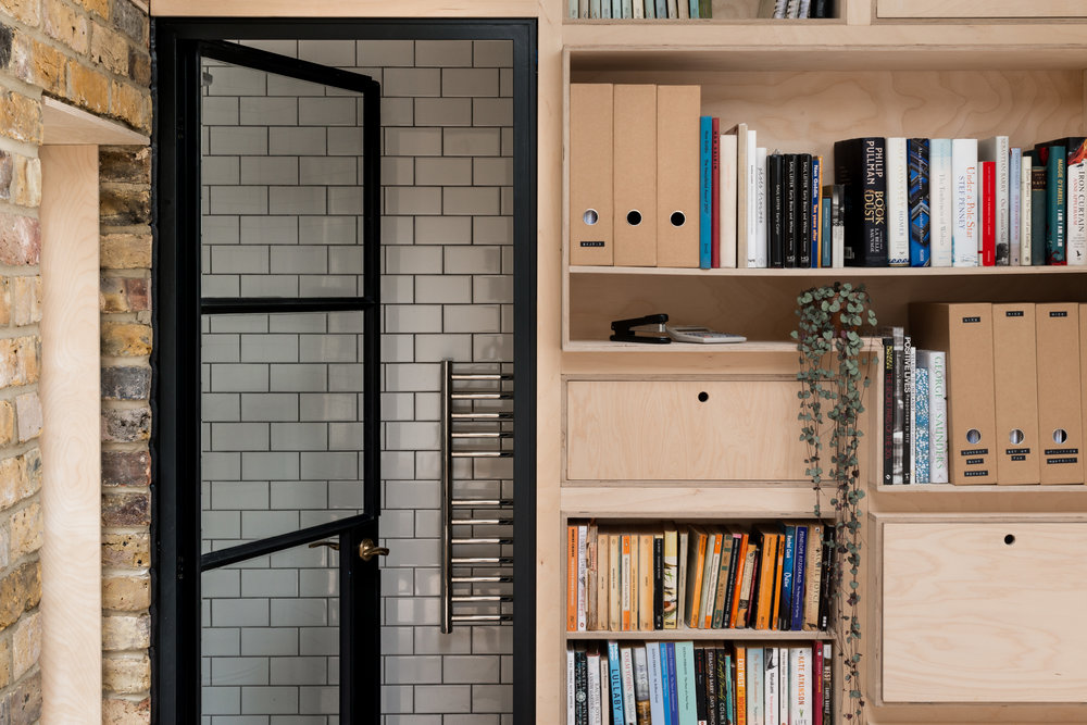 Greenwich Garden Studio Timber - MW Architects