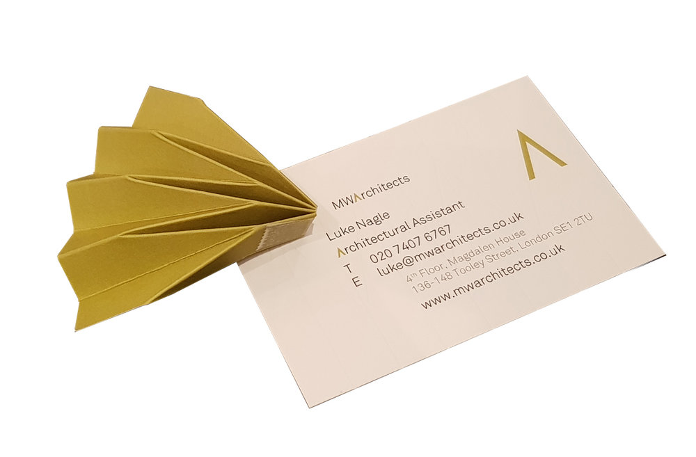 MW Architects - Business Cards