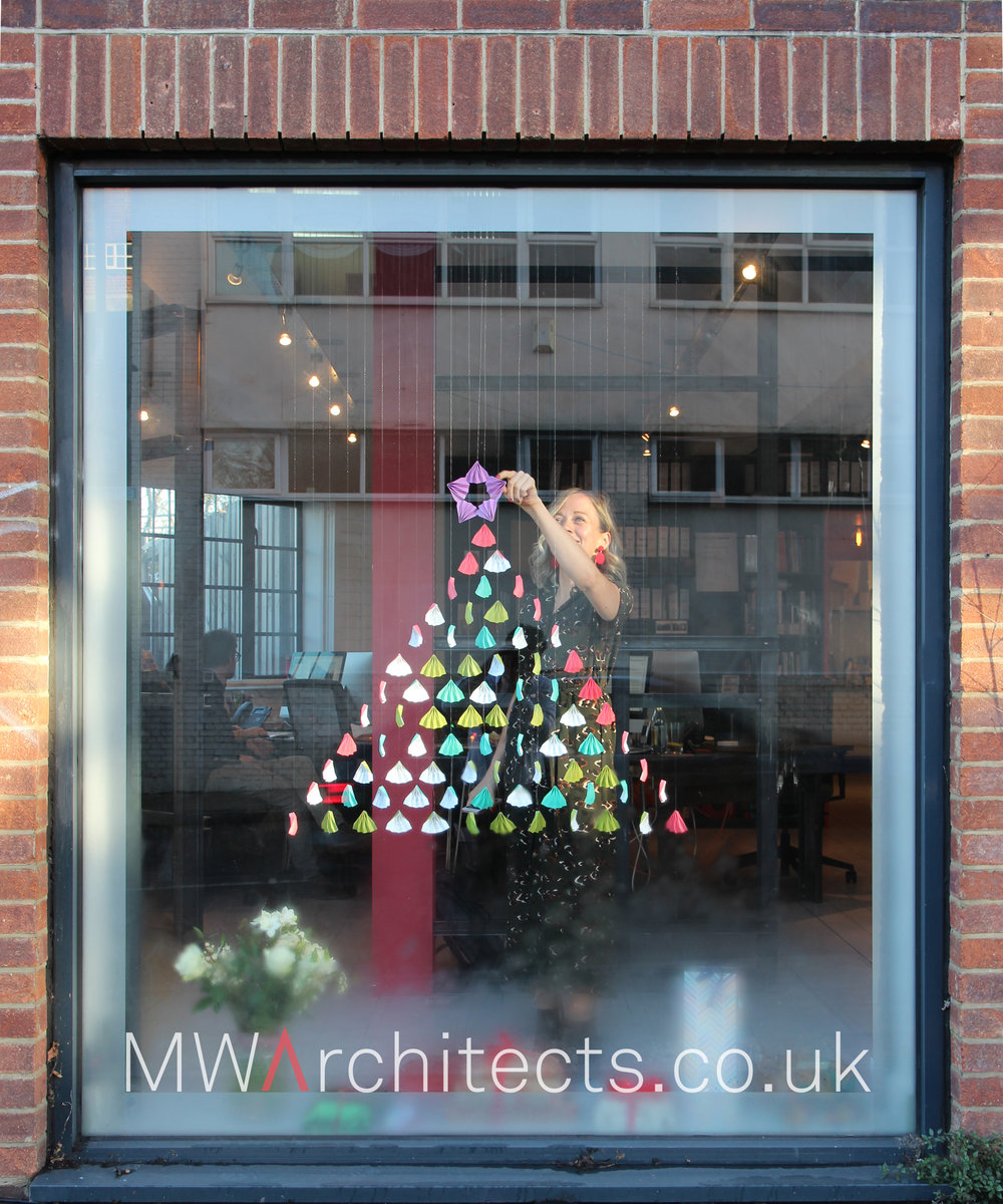 MW Architects - Christmas Shop Window