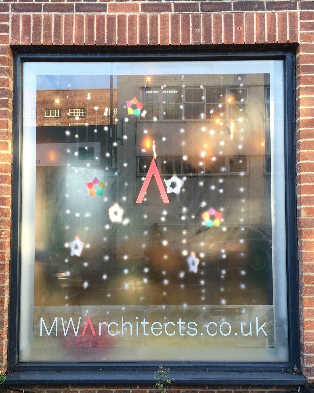 Christmas Shop Window - MW Architects