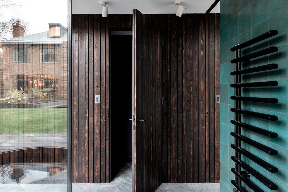 Yoga Dojo Shower Room - MW Architects