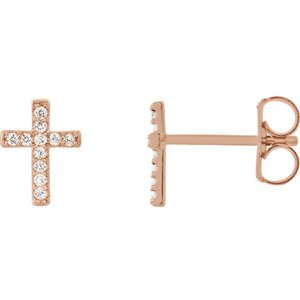 af5a51ccb 06 CTW Diamond Cross Earrings — Sundance Jewelers