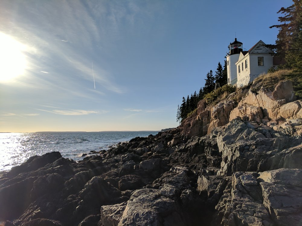 Bass Harbor Head light Acadia