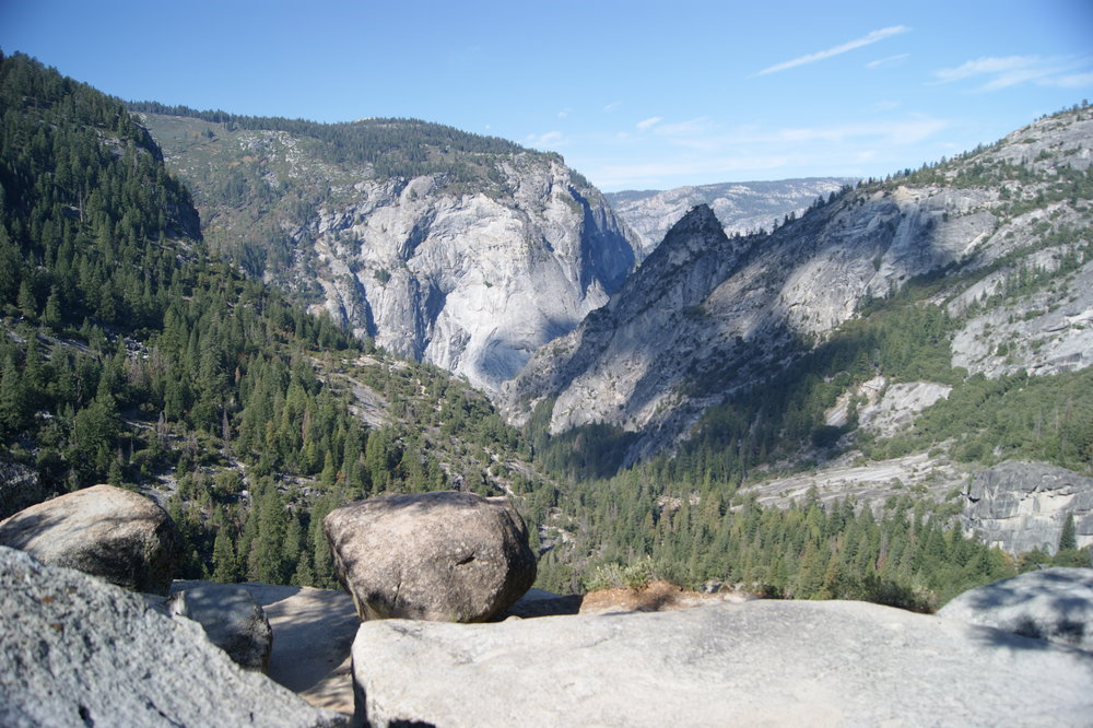 vernal falls yosemite travel