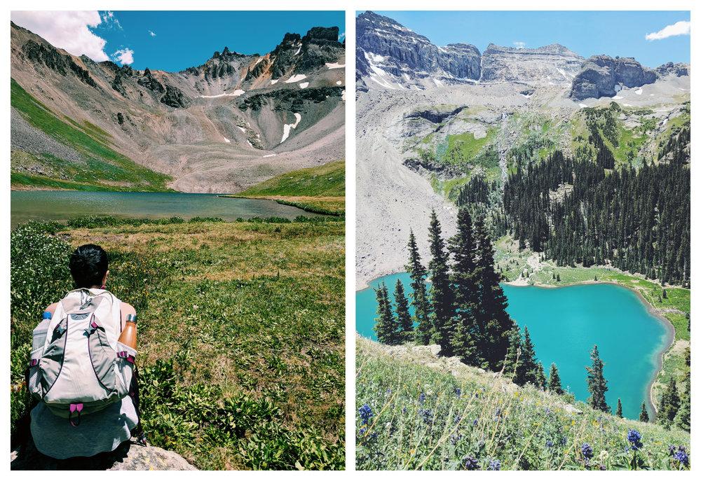telluride travel blue lakes hiking