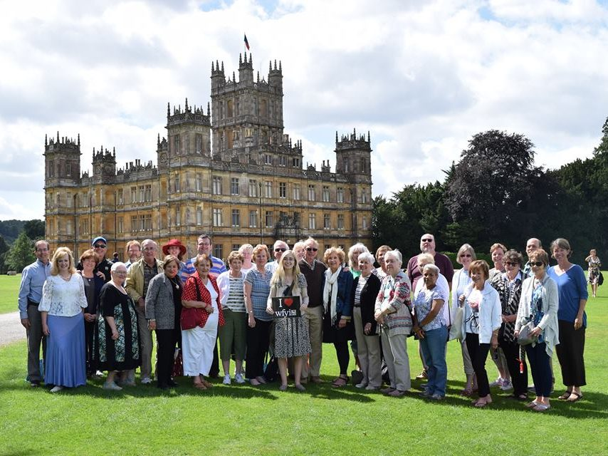 Highclere Castle - the setting for PBS television series, Downton Abbey.