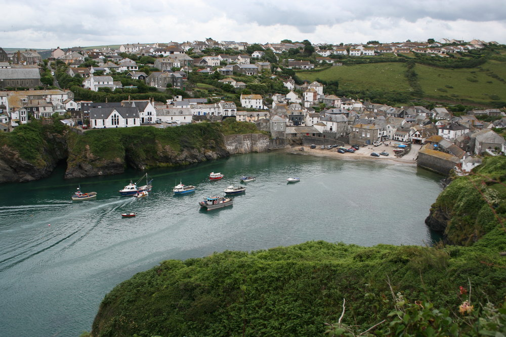 The TV-themed tour calls in at Port Isaac, the Cornwall fishing village made famous by Doc Martin.