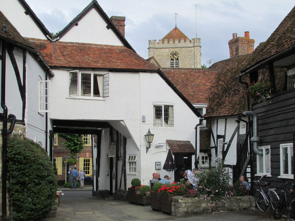Travellers on the tour will get the opportunity to wander around all of the Midsomer Murders sites in the Oxfordshire village of Dorchester-on-Thames.