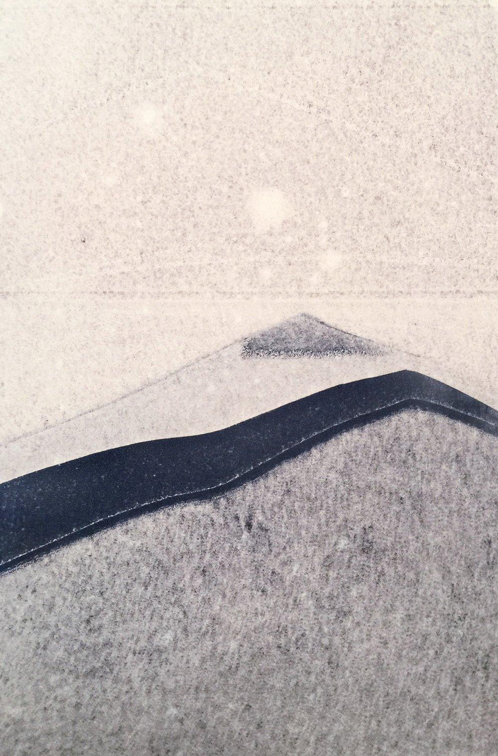 Monotype, 15 x 11 paper size, 2017