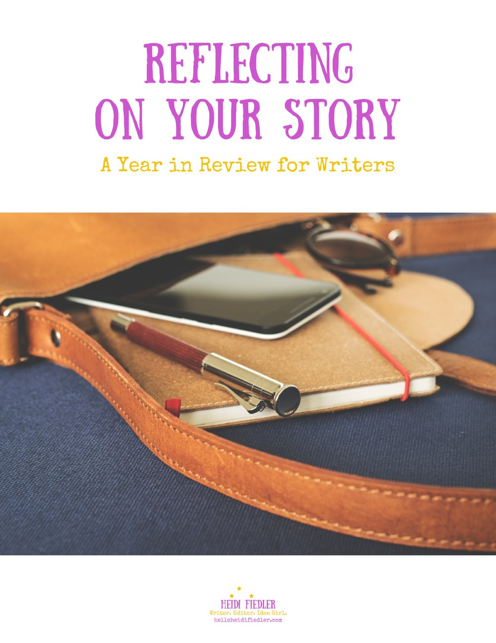 Click through to download a free guide to reviewing your writing life.