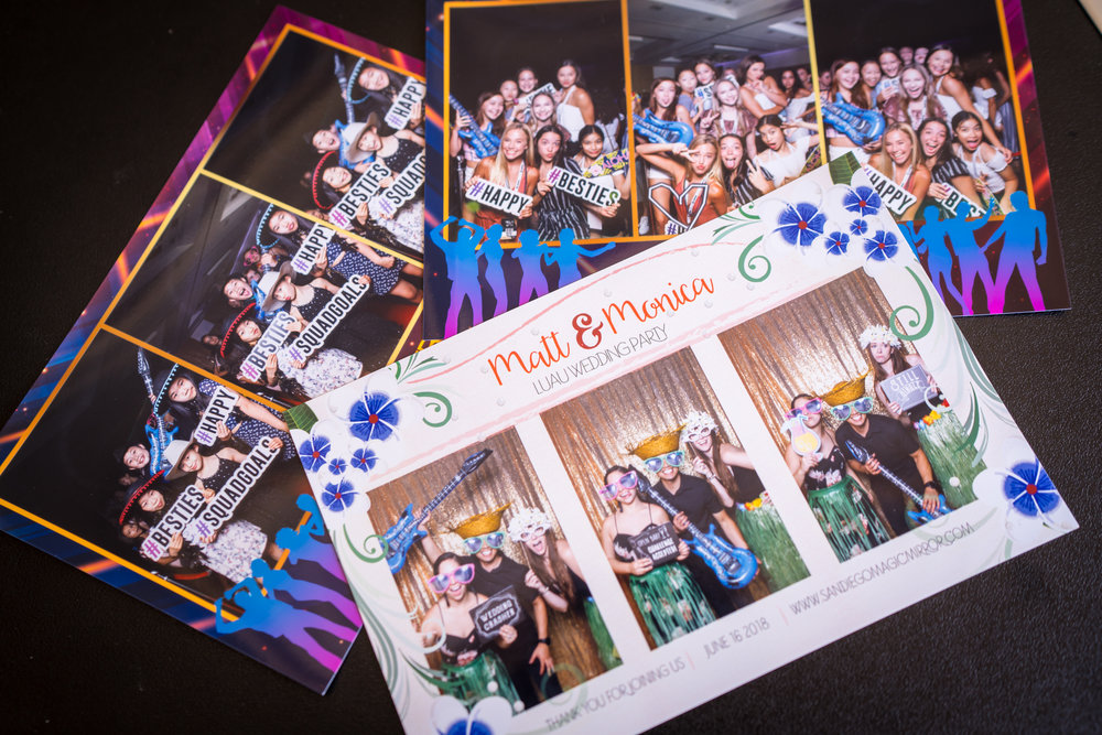 Collect your Prints! - Don't forget to collect your custom photo strips...