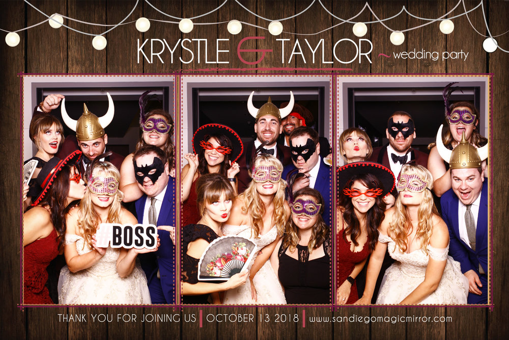 San Diego Magic Mirror Photo Booth Rental at The Ultimate Skybox