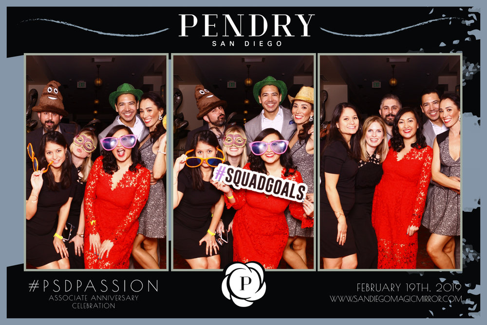 San Diego Magic Mirror Photo Booth at The Pendry Hotel