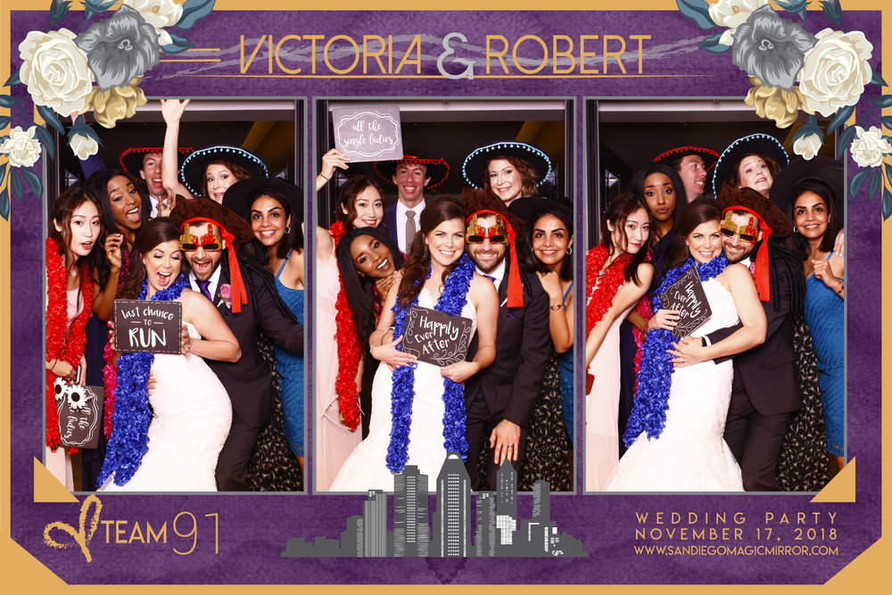 San Diego Magic Mirror Photo Booth at the Ultimate Skybox