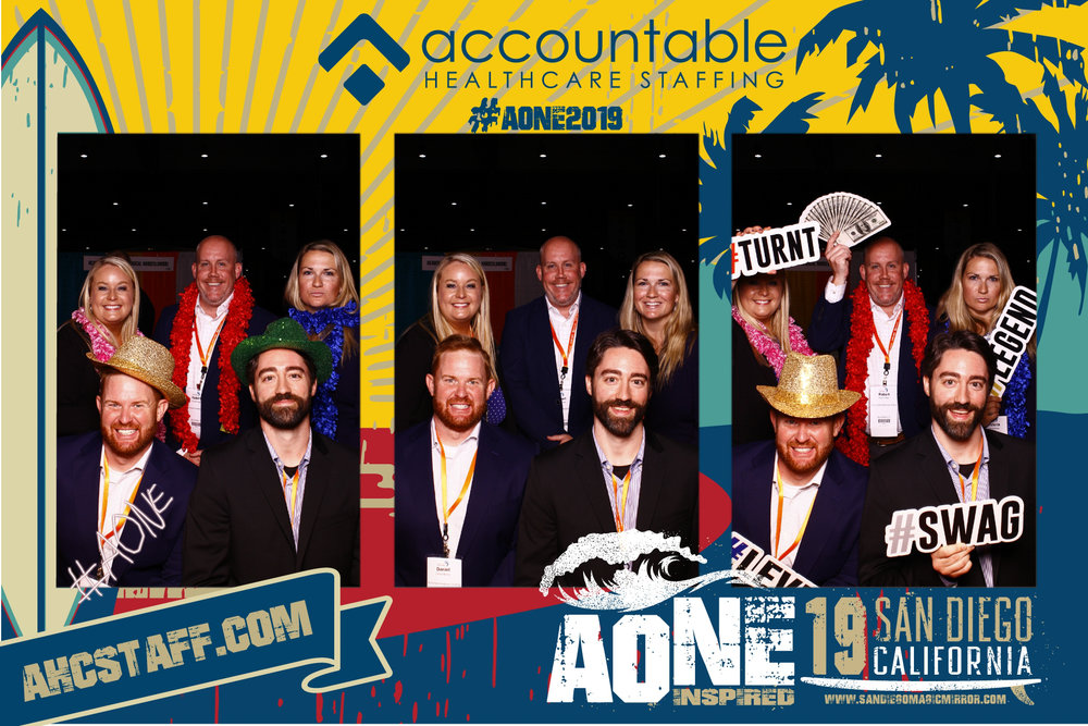 San Diego Magic Mirror Photobooth AONE Conference 2019